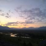 þingvellir in einer Sommernacht gegen 03.00 Uhr