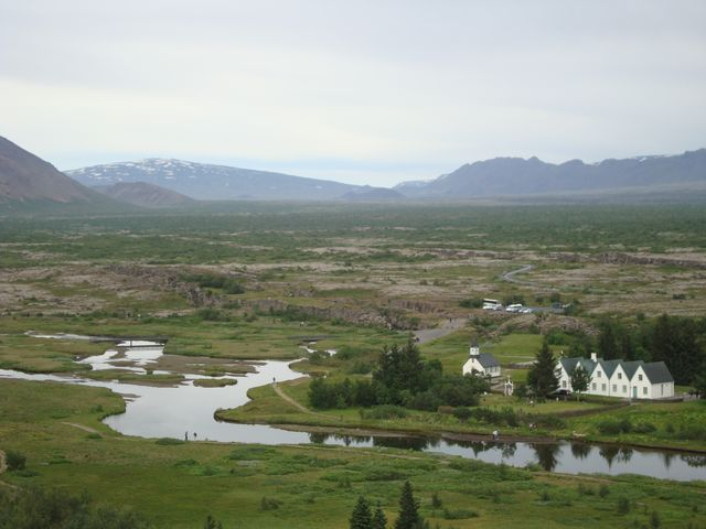 Þingvellir mit Skjaldbreiður